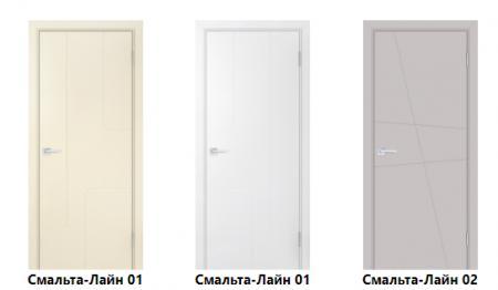 Крашеные эмалью двери: преимущества и особенности использования